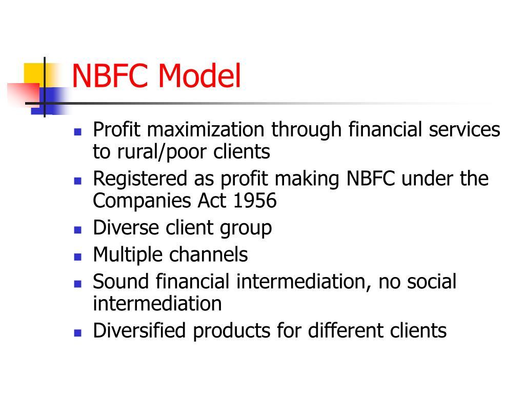 NBFC Model
