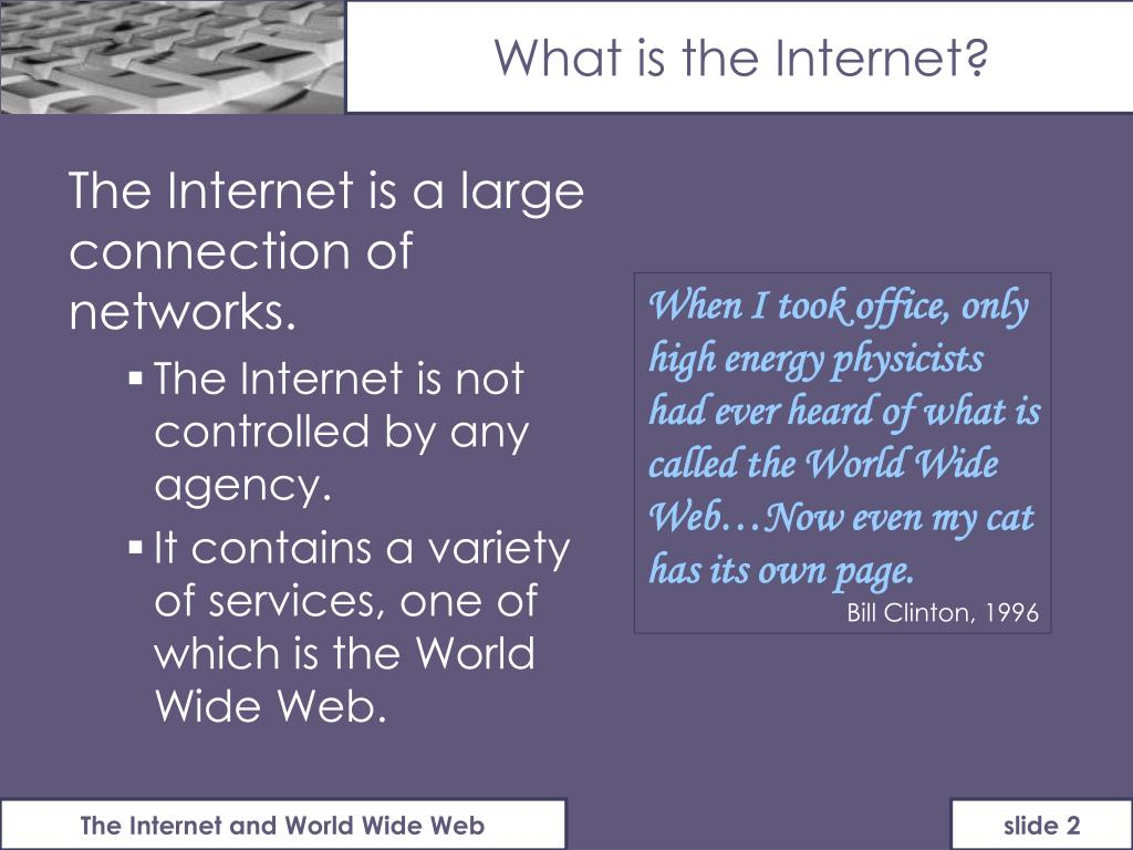 an introduction to the internet access in the world The internet and world-wide web are the  began offering internet access to  file formats the history of the net spyware passwords.