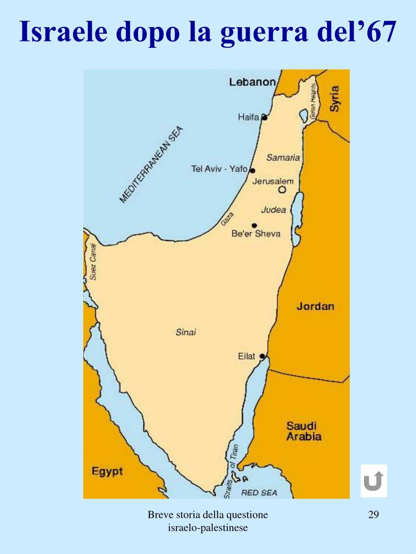 Israele dopo la guerra del'67