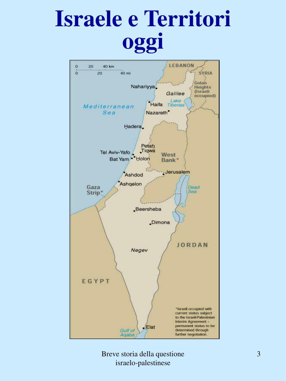 Israele e Territori