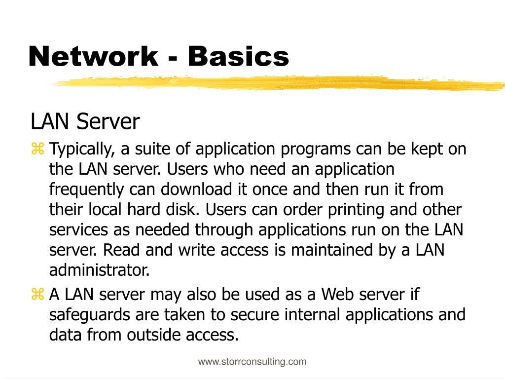 Network - Basics
