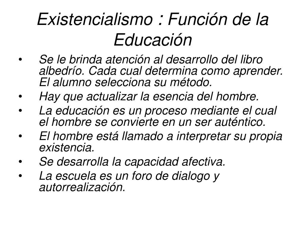 Existencialismo