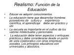 realismo funci n de la educaci n10