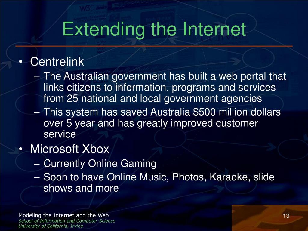 Extending the Internet