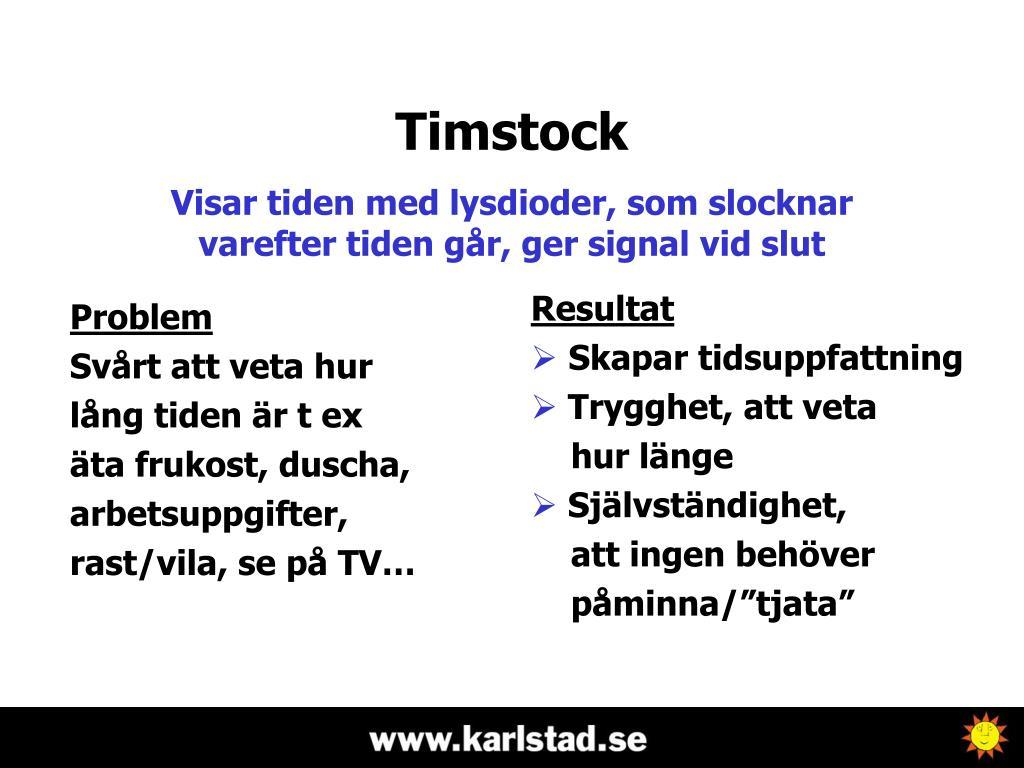 Timstock
