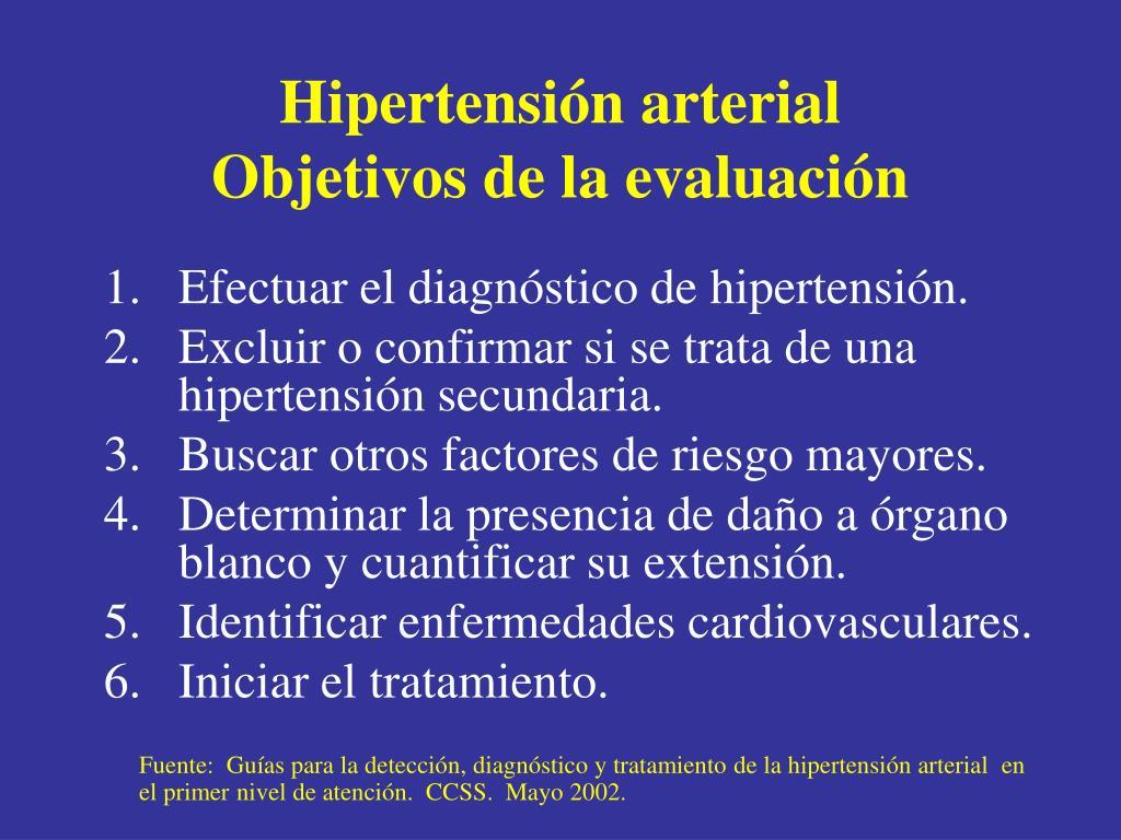PPT - Hipertensión Arterial PowerPoint Presentation - ID