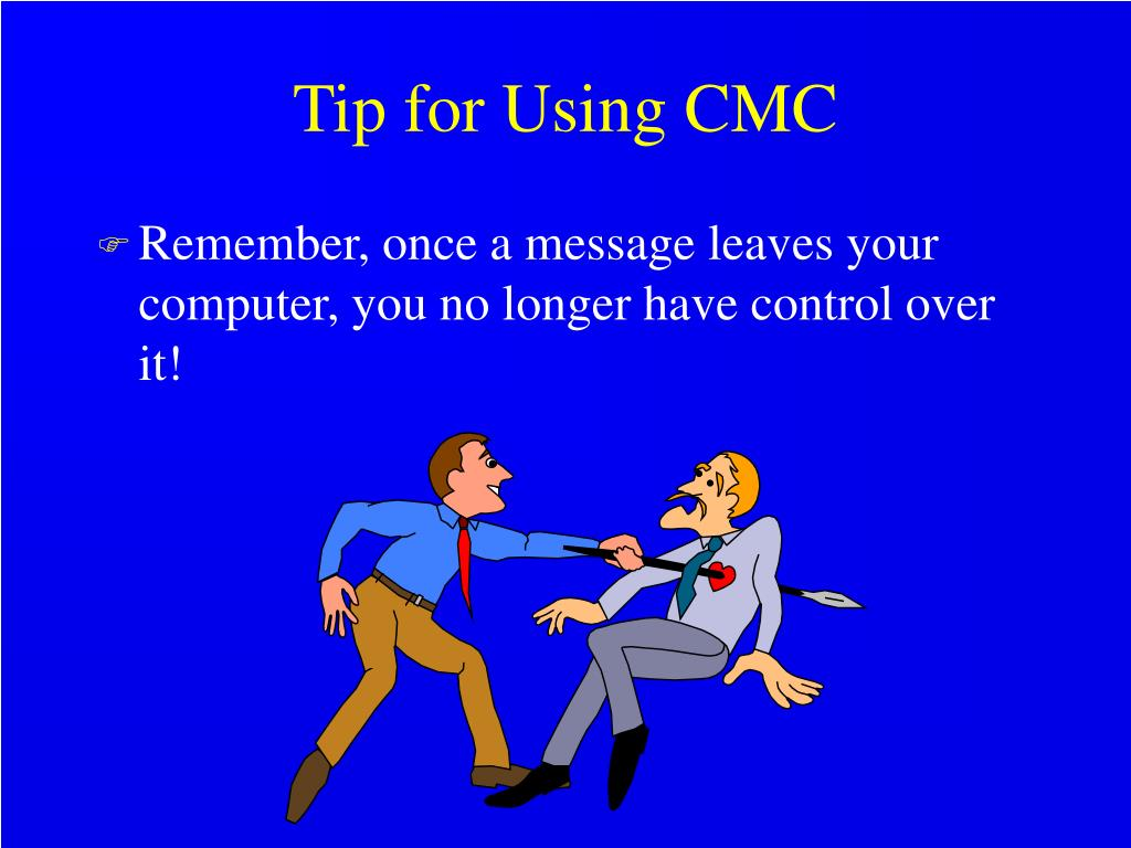 Tip for Using CMC
