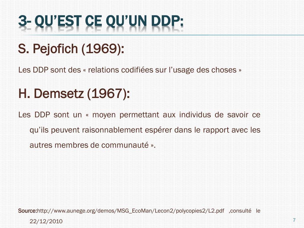 S. Pejofich (1969):