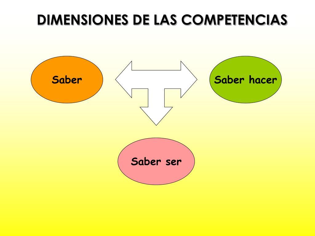 DIMENSIONES DE LAS COMPETENCIAS