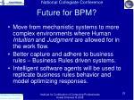 future for bpm