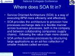 where does soa fit in