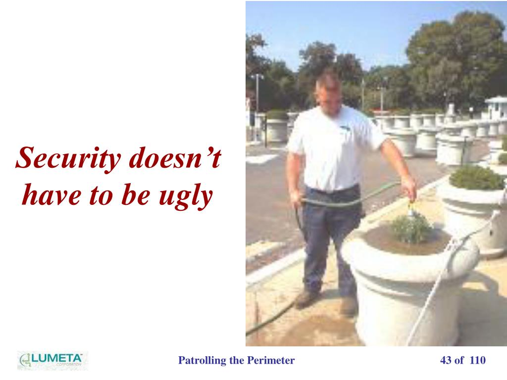 Security doesn't have to be ugly