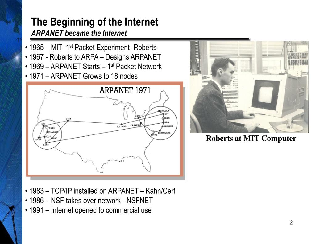 The Beginning of the Internet
