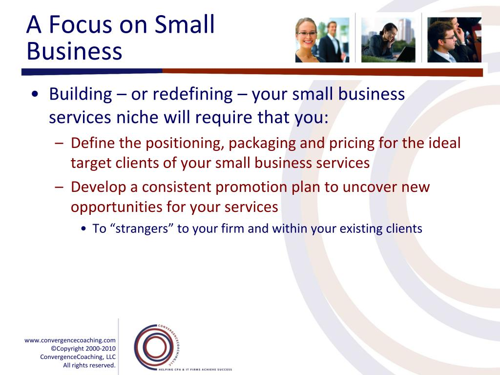 A Focus on Small Business
