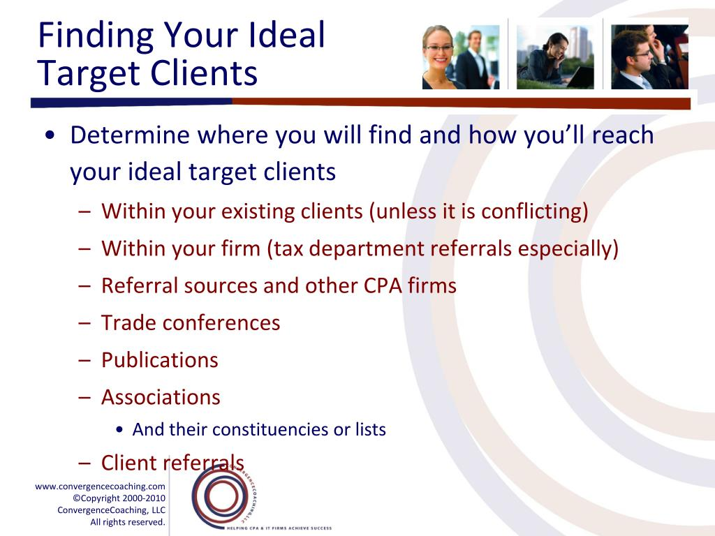 Finding Your Ideal Target Clients