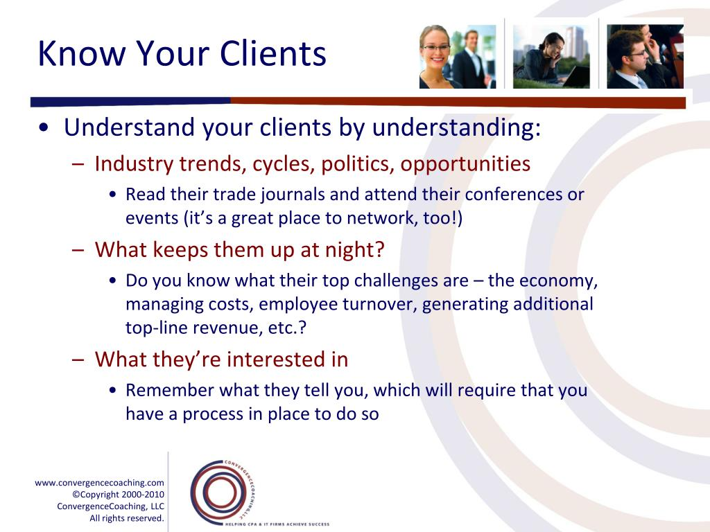 Know Your Clients