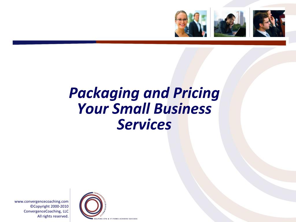 Packaging and Pricing Your Small Business Services