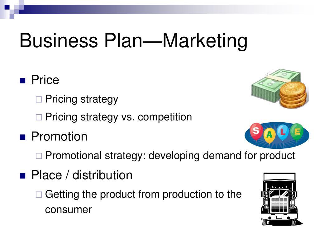 Business Plan—Marketing