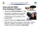 foss in business development smes10