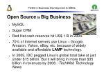 foss in business development smes28