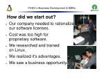 foss in business development smes40