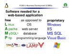 foss in business development smes48