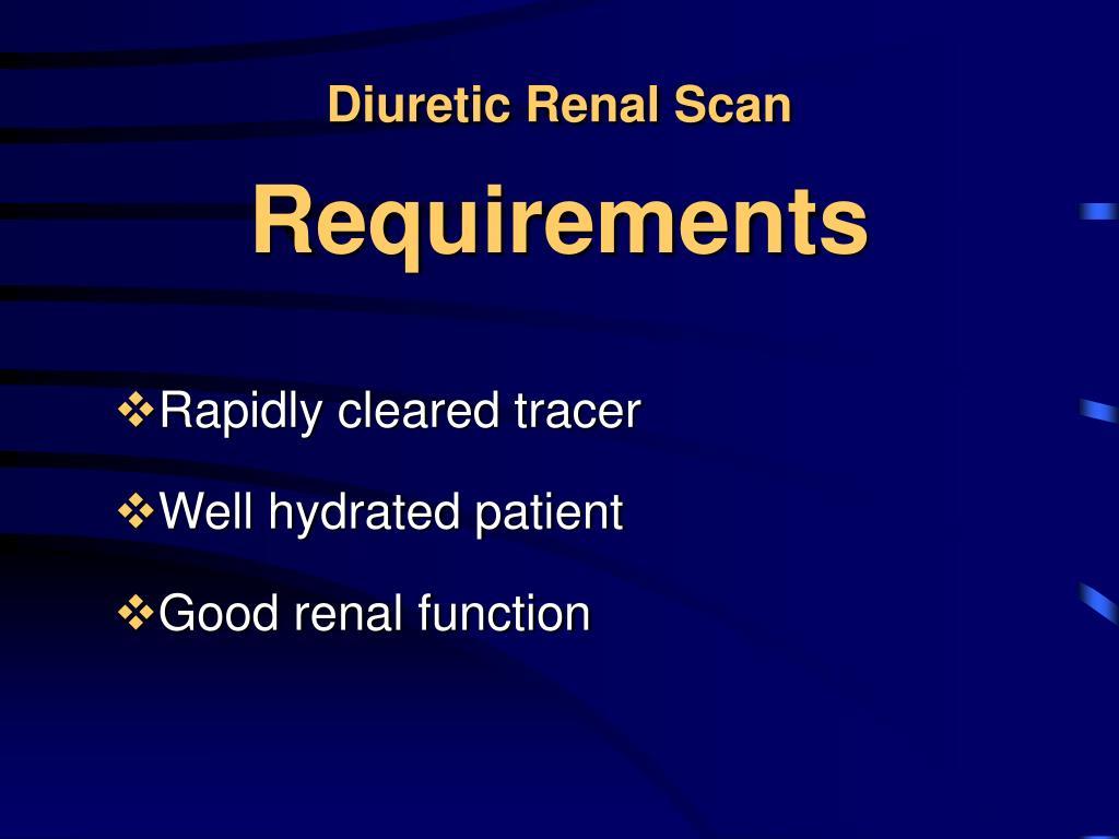 Diuretic Renal Scan