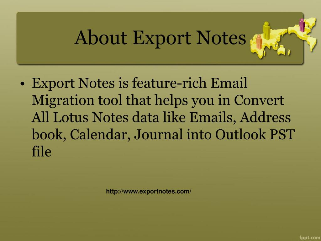 About Export Notes