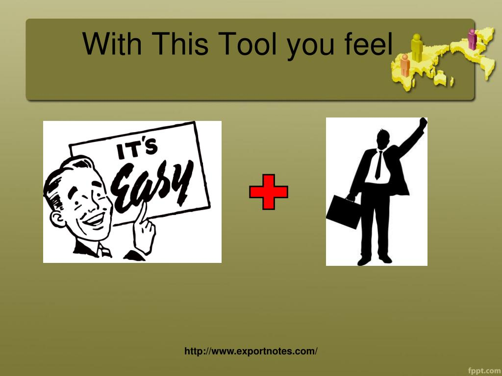 With This Tool you feel