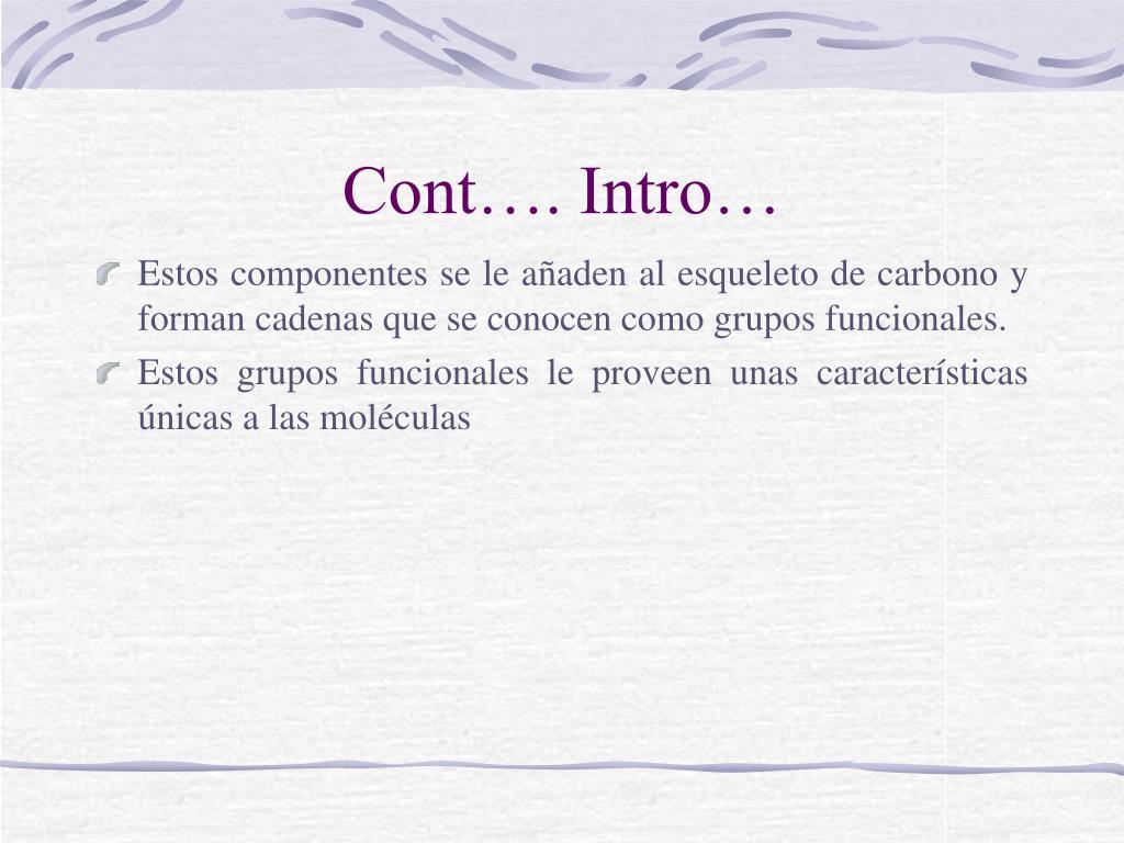 Cont…. Intro…