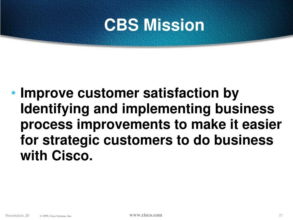 CBS Mission