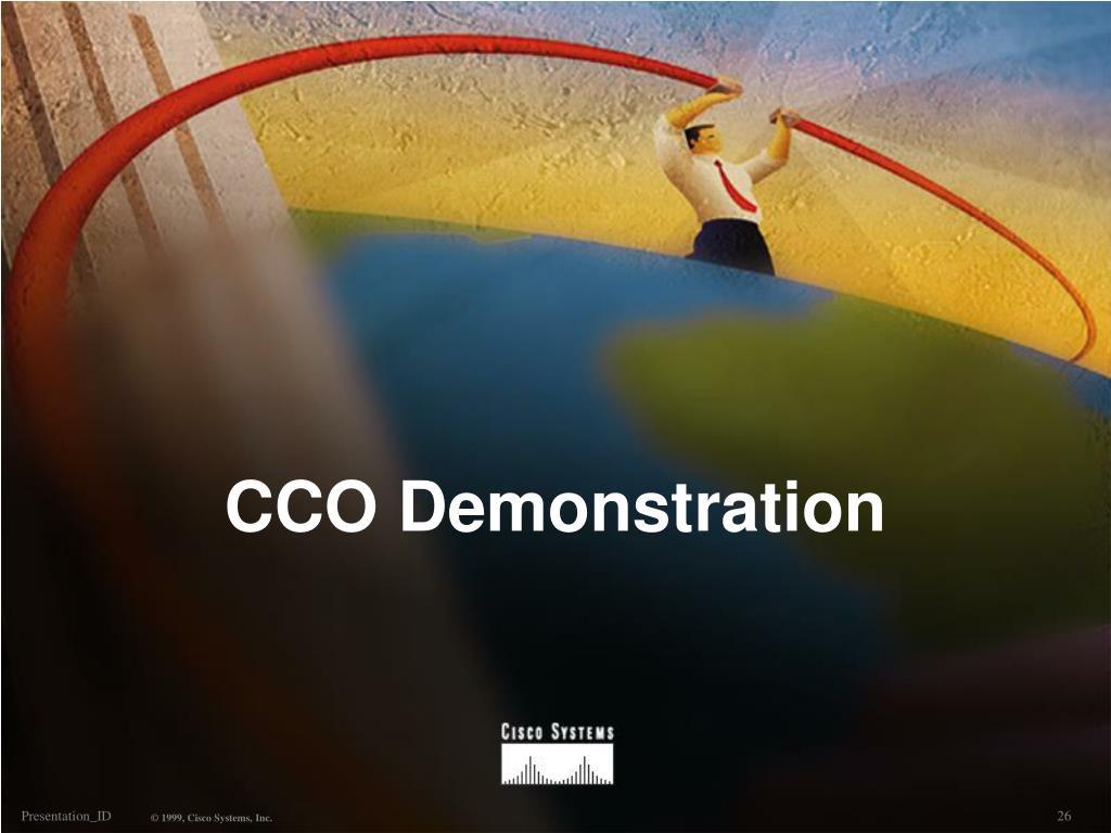 CCO Demonstration