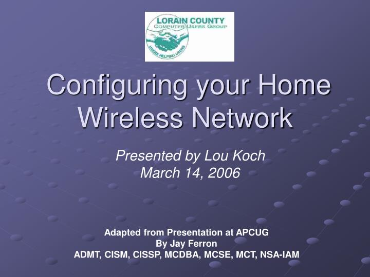 Configuring your home wireless network l.jpg