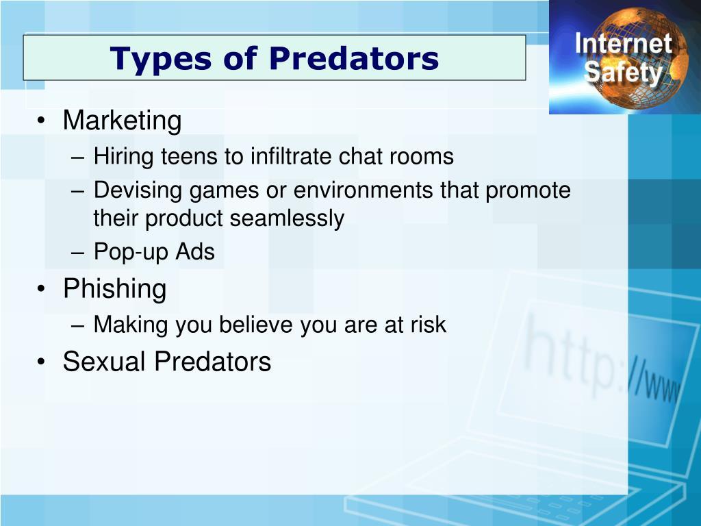 Types of Predators