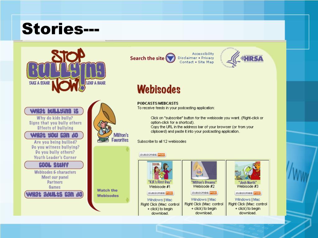 Stories---