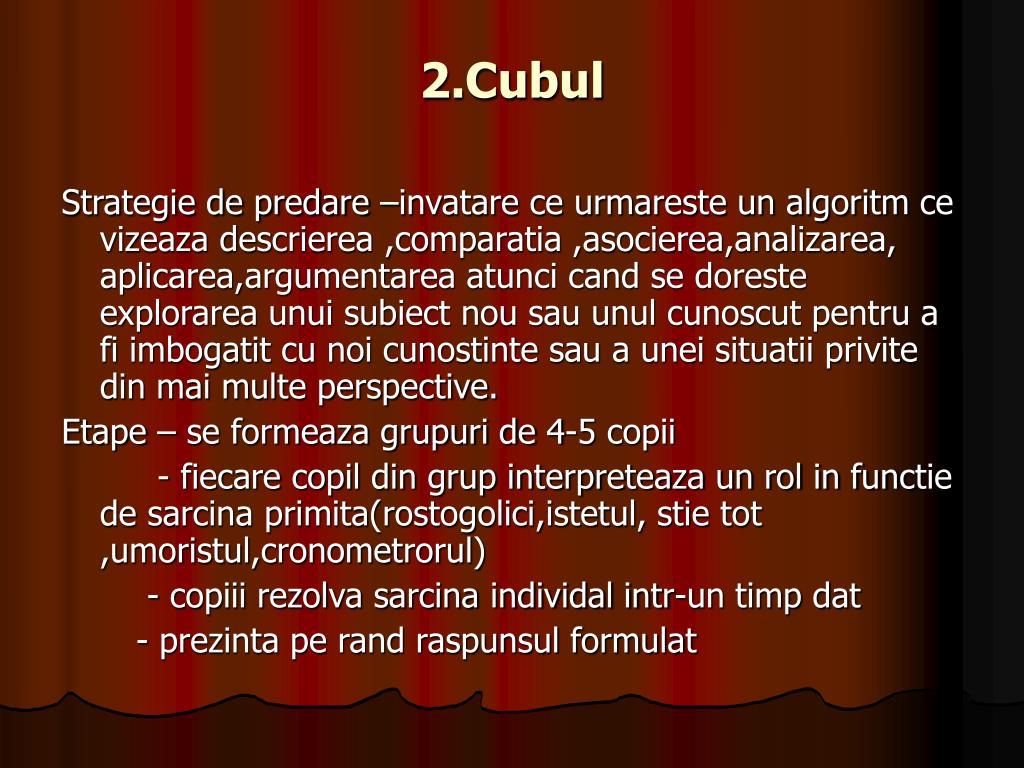 2.Cubul
