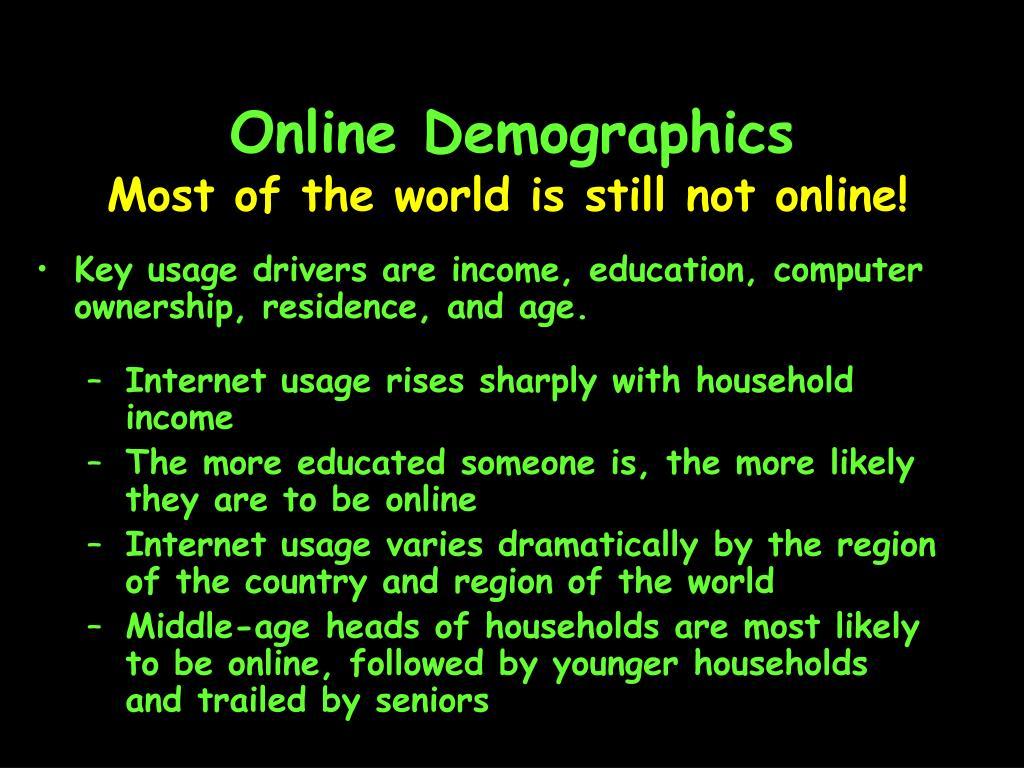 Online Demographics