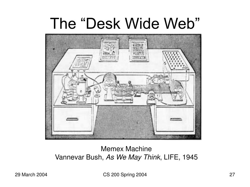 """The """"Desk Wide Web"""""""