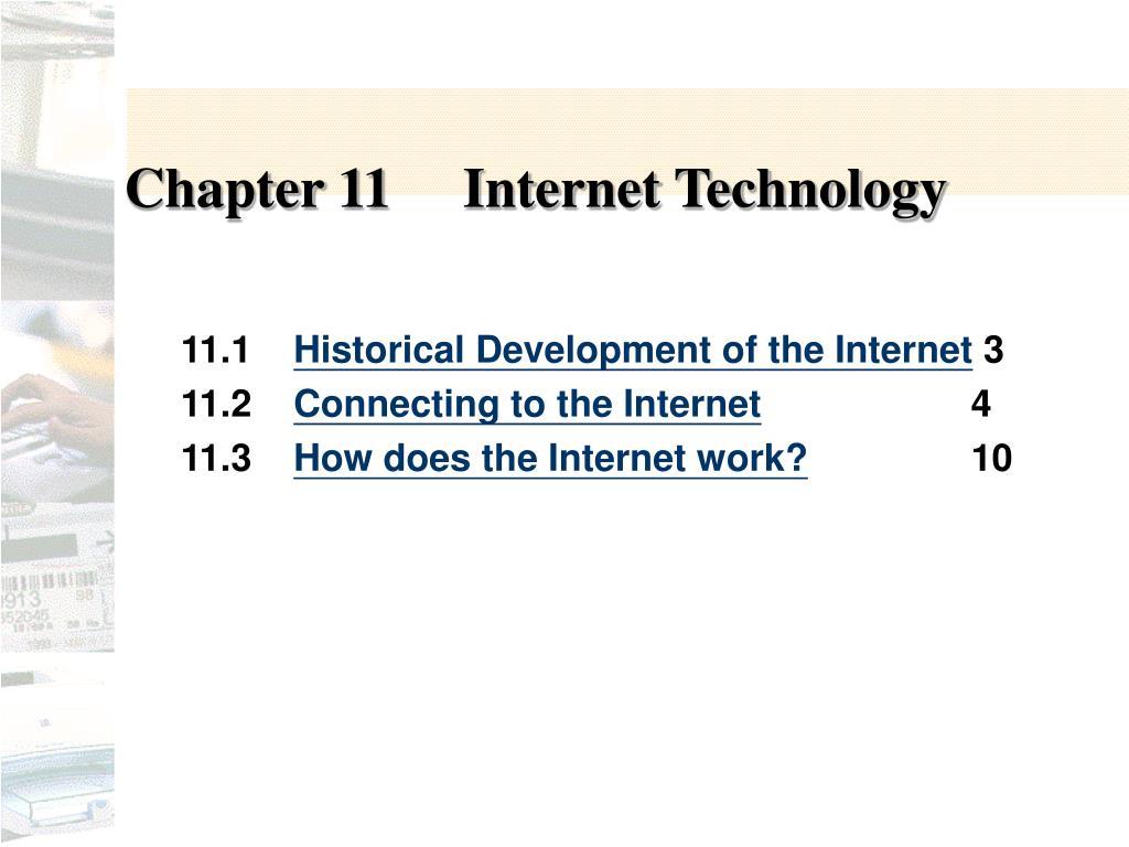 Chapter 11Internet Technology