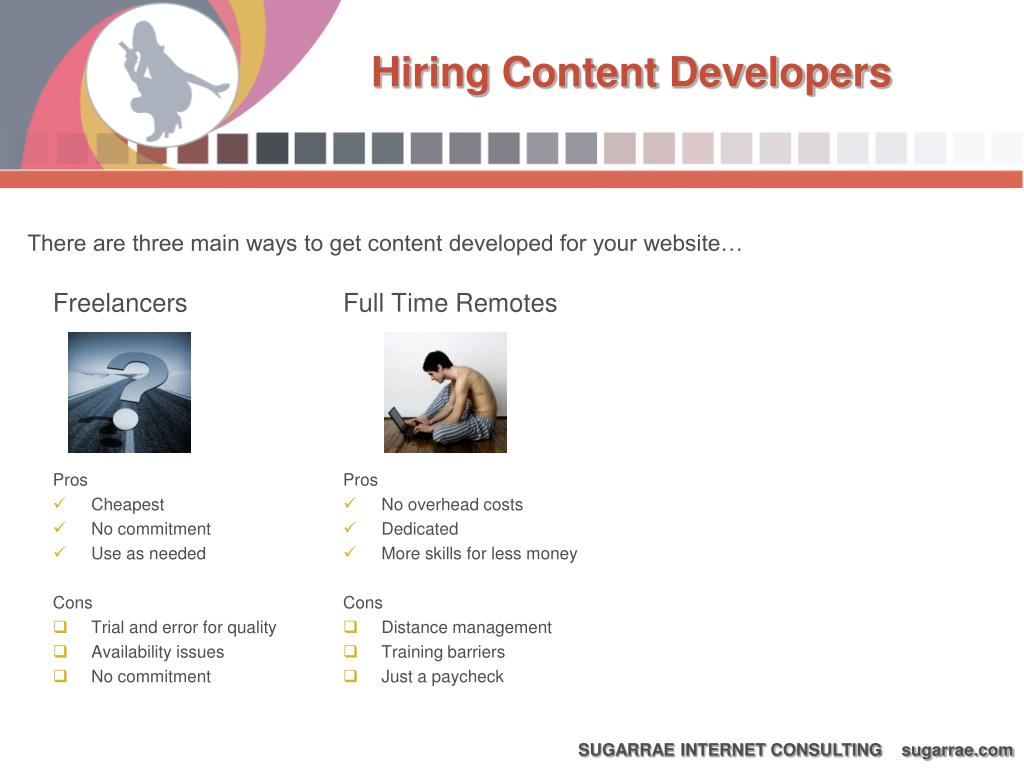Hiring Content Developers