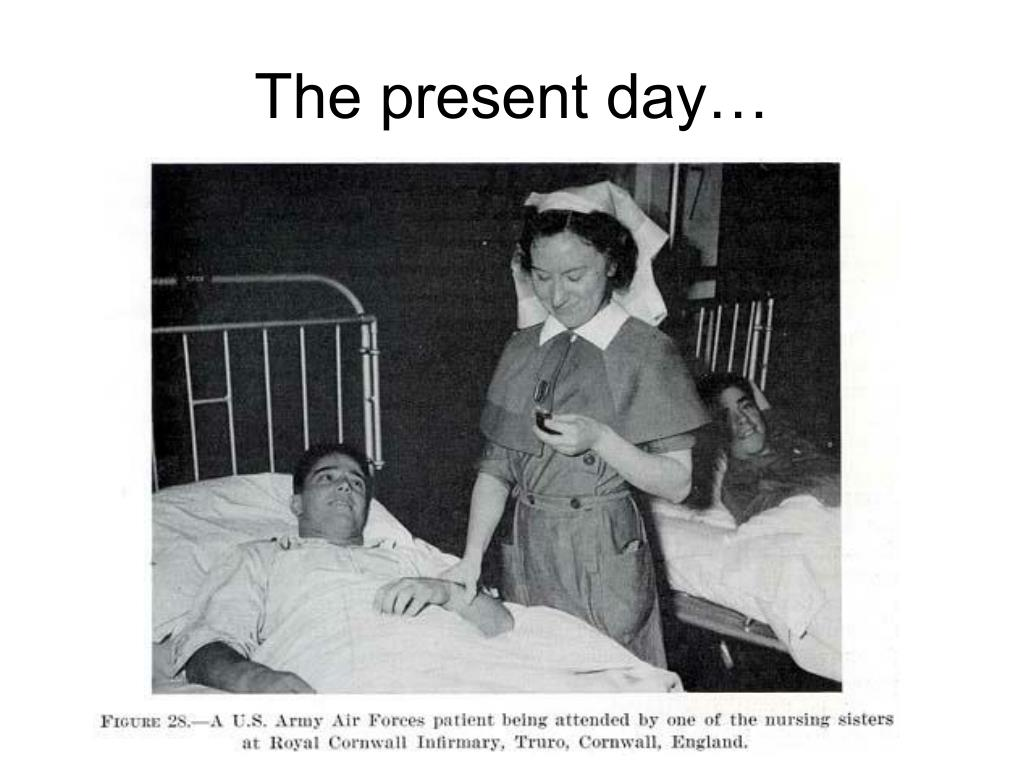 The present day…