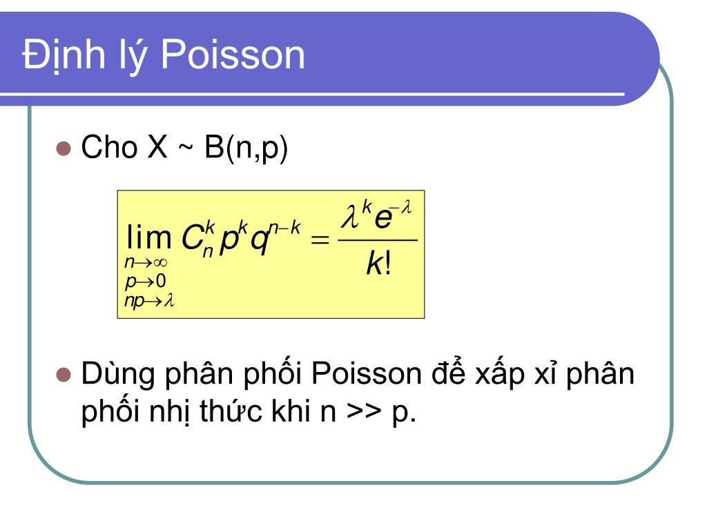 Định lý Poisson