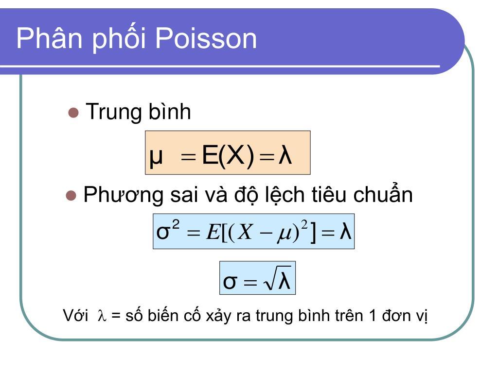 Phân phối Poisson