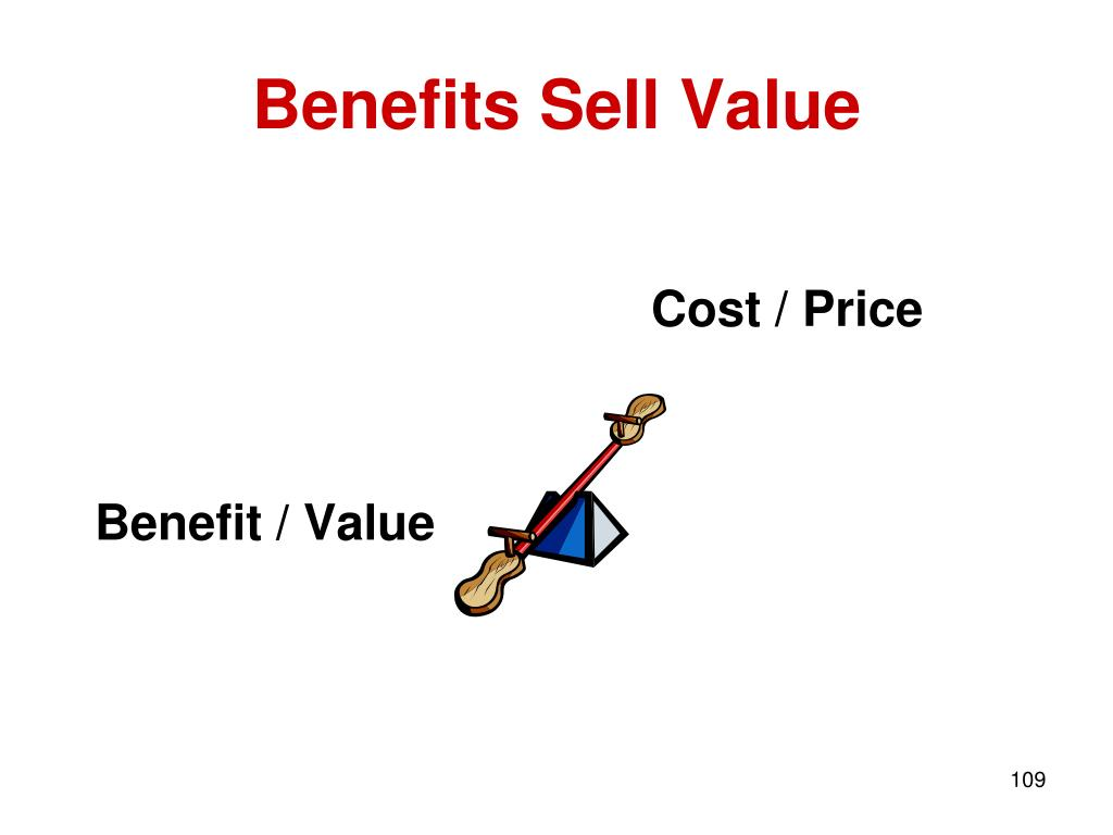 Benefits Sell Value