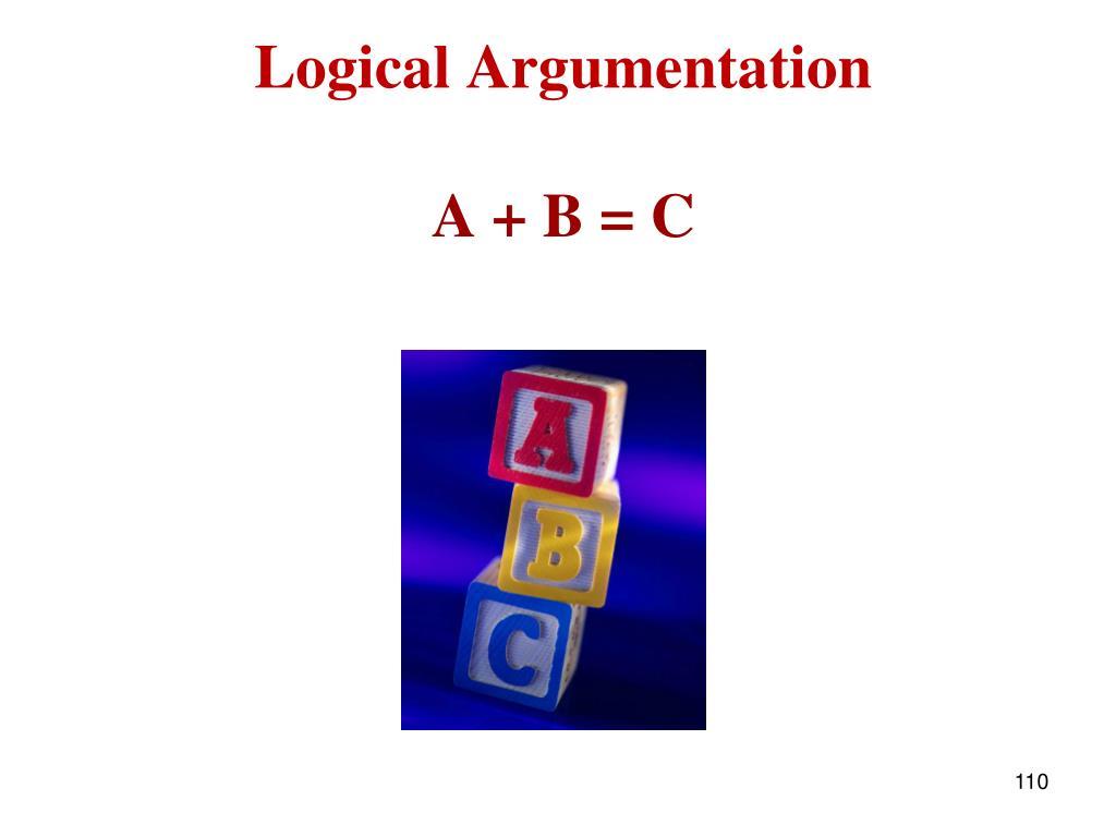 Logical Argumentation