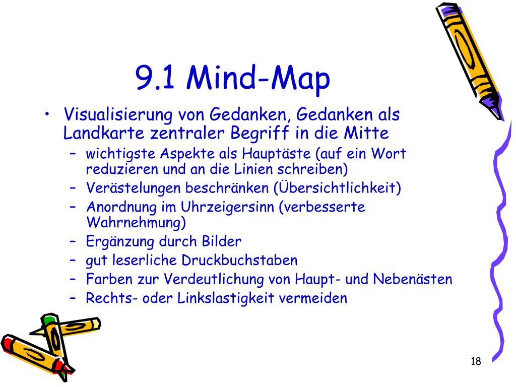 9.1 Mind-Map