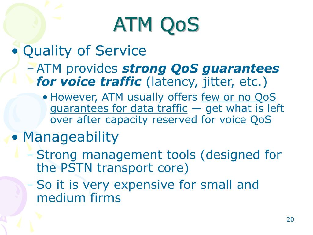 ATM QoS