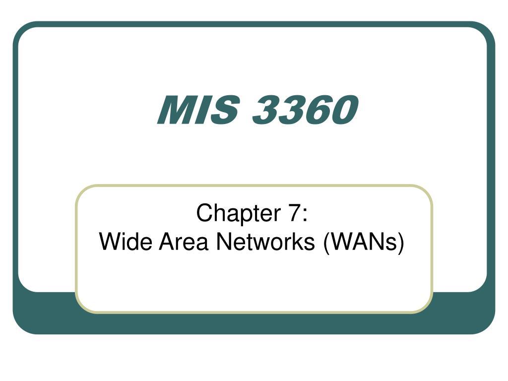 MIS 3360
