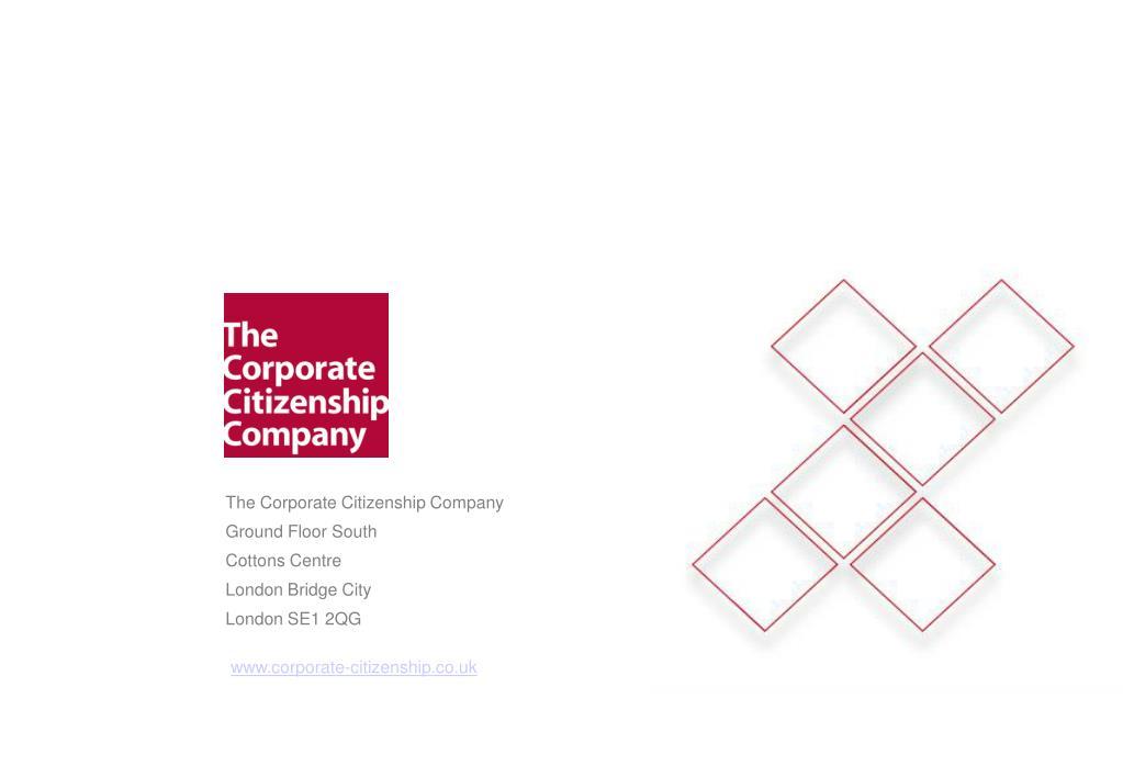 The Corporate Citizenship Company