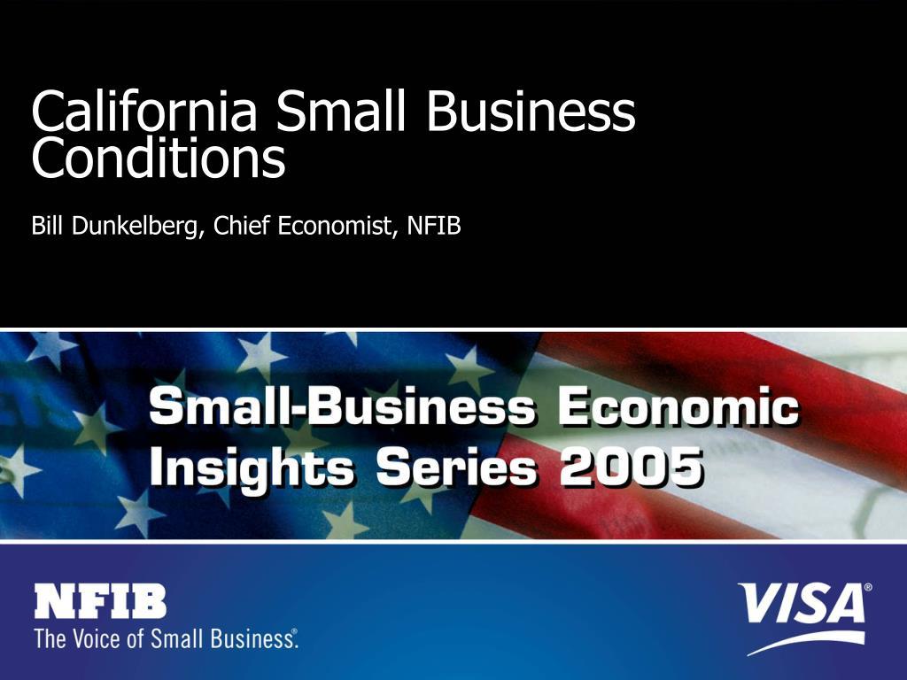California Small Business Conditions
